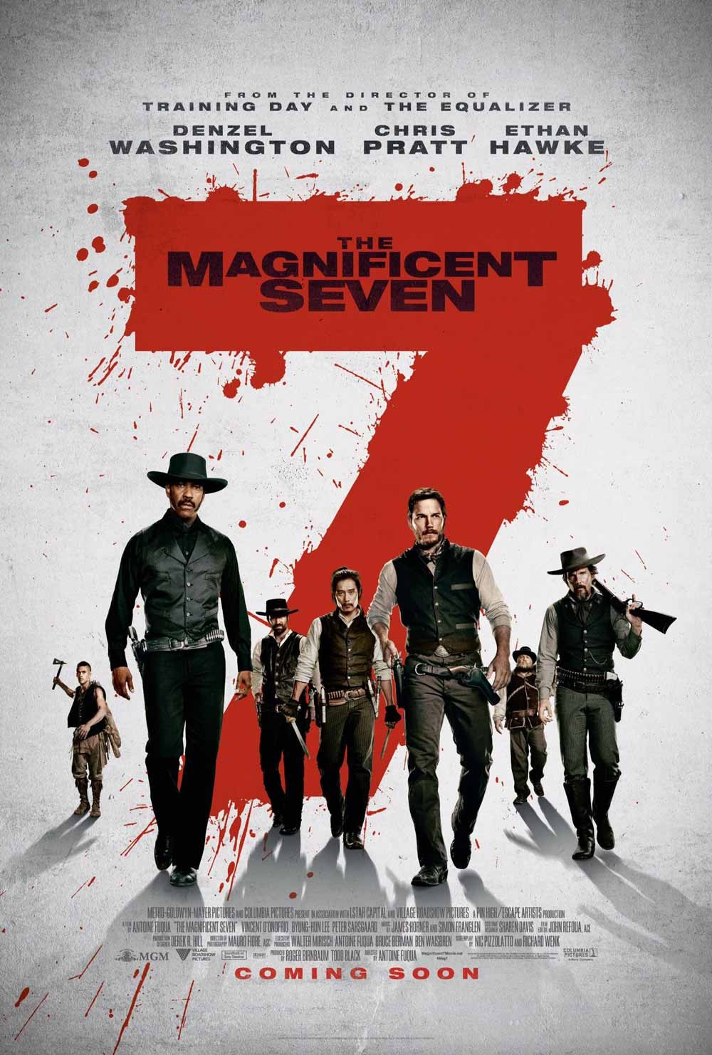 The Magnificent Seven (2016) Hd Online